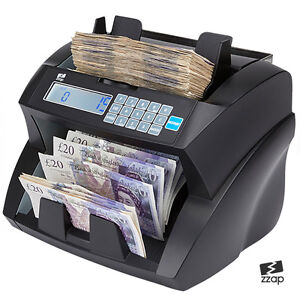 Bank Note Banknote Money Currency Counter Count Fake Detector Pound Cash Machine 700519075833