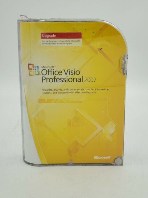 Ms Office Visio Professional 2007 For Sale