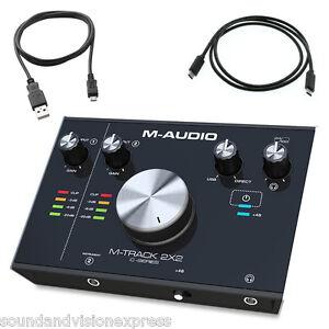 M-Audio-M-Track-2X2-24-bit-2-Ch-USB-Audio-Recording-Interface-Cubase-More