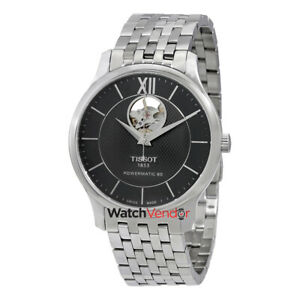 Tissot-Tradition-Black-Dial-Automatic-Mens-Watch-T0639071105800