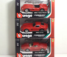 "Bburago 36000 FERRARI ""Old Collection"" 3 pezzi - METAL 1:43 Race&Play"