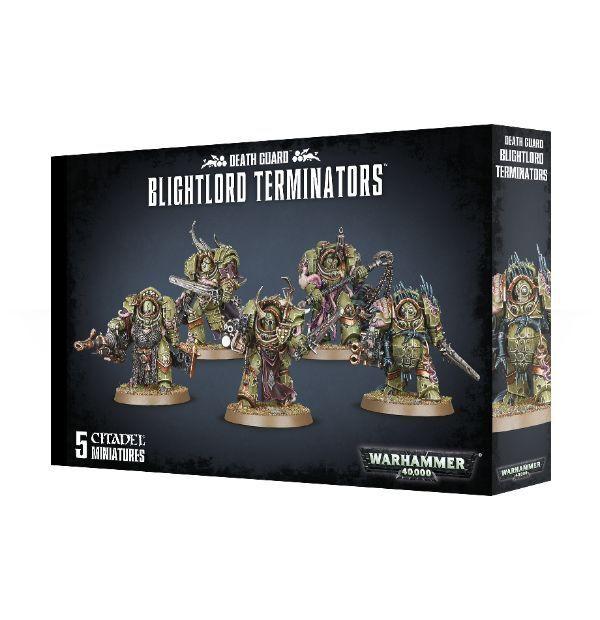 Death Guard blightlord  Terminators giocos lavoronegozio Warhammer 40.000 40k 8th 43-51  memorizzare