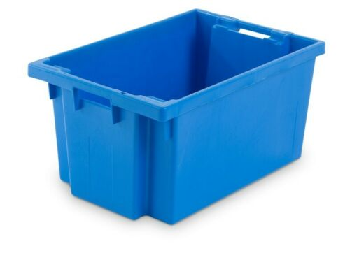 Stapelboxen,Transportbehälter,50 Liter,Boxen 600x400x300 9x Drehstapelbehälter