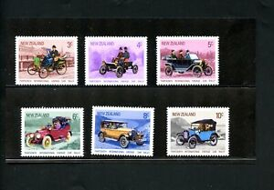 Lot 82441 Mint Nh 489 494 Old Cars Stamps New Zealand Ebay
