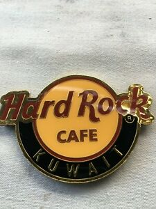 Hard Rock Cafe Magnet    Logo Kuwait