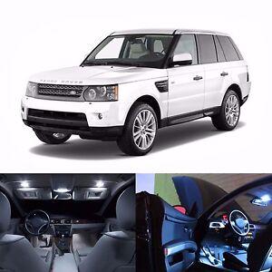 Led White Lights Interior License Package Kit For Land Rover Range Rover Sport Ebay