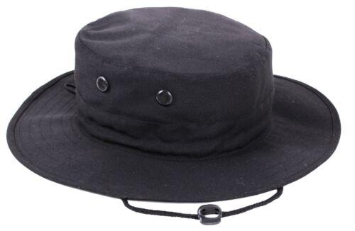 OD Black Khaki Camo Adjustable Boonie Hat Lightweight Vented Bucket Bush Hat