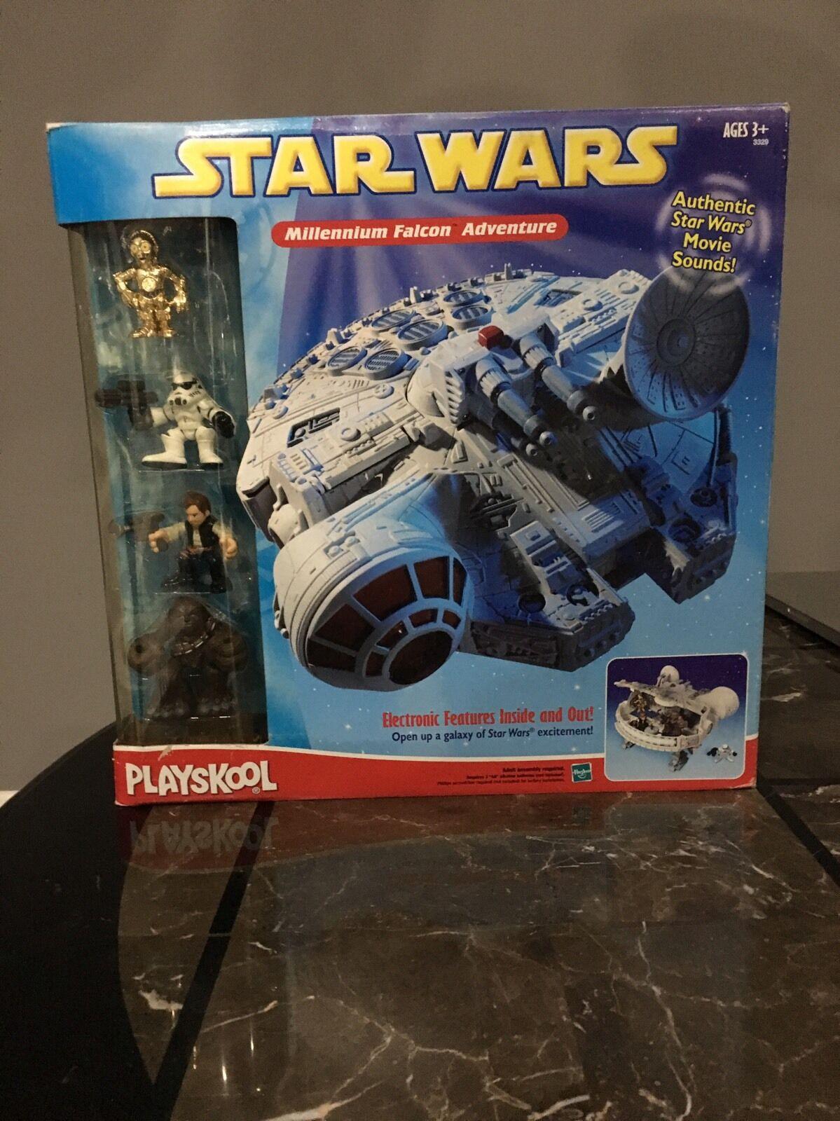 Playskool New Star Wars Millennium Falcon Adventure Unopened