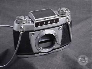 5136-Exa-I-film-camera-body-with-Waist-Lever-Viewfinder