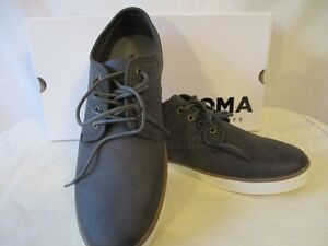 5be45d324a Details about Sonoma Faux Leather Size 8 M Dark Gray Suede/Fabric Oxford  Shoes SR$70 New