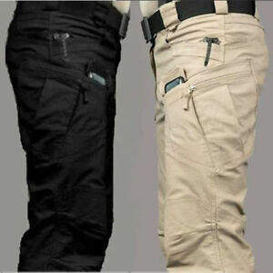 Mens-Outdoor-Military-Urban-Tactical-Combat-Trousers-Casual-Cargo-Pants-Hiking