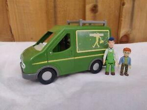 Fireman Sam Mike Flood Works Van Mike Flood Figure & Norman Price Figure 🔥