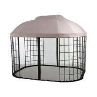 Garden Winds Replacement Canopy For Pacific Casual Oval Dome Gazebo With Riplock