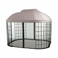 Garden Winds Replacement Canopy For Pacific Casual Oval Dome Gazebo With Riplock on Sale