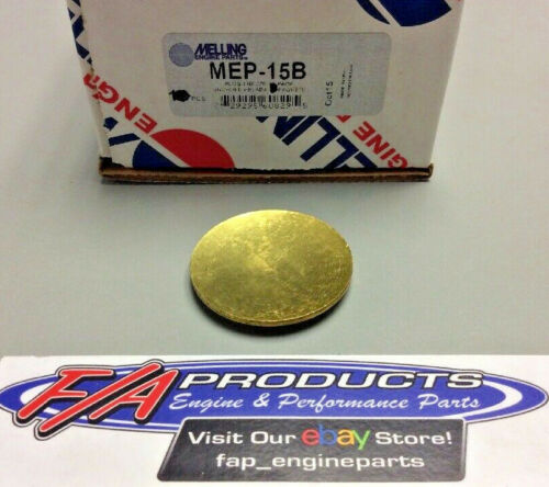 """Melling MEP-15B BRASS 1-3//4/"""" Engine Freeze Out Expansion Convex Disc Type Plugs"""