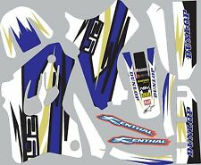 Graphics for Yamaha YZ80 YZ 80 1993-2001 Decal fender shrouds sticker