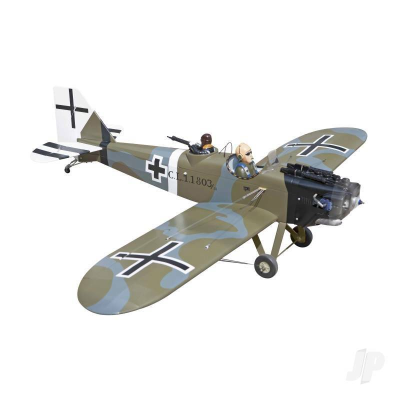 5500005 Seagull WW1 Junkers CLS G-Buyu 15cc 1.75M  69in  SEA-275 Modellismo