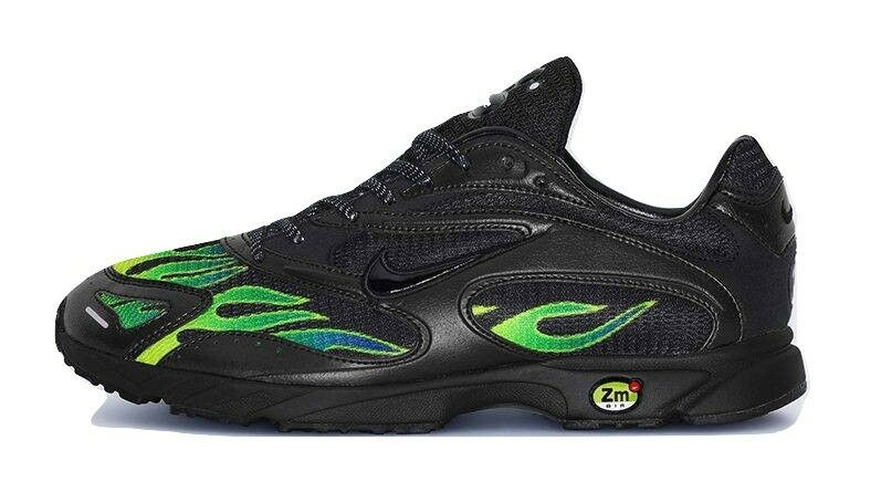 Supreme Nike Air Zoom Streak Spectrum Plus Black Size 9 Dad Shoe