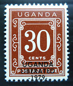 UGANDA-1970-30c-Postage-Due-with-Dropped-OPT-with-Hyphens-D10-SALE-PRICE-BN1102