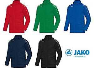 Genieße den niedrigsten Preis feinste Stoffe immer beliebt Details zu JAKO Coachjacke Classico Senior Winterjacke mit Flock optional