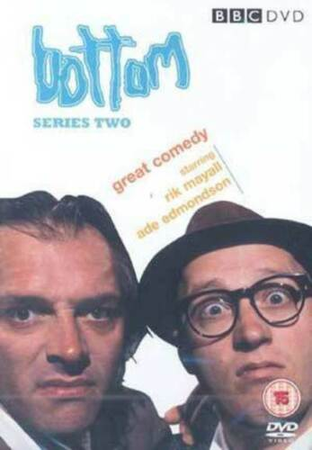 1 of 1 - Bottom: The Complete Bottom - Series 2 DVD (2004) Rik Mayall