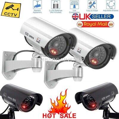 Brand New Security Fausse caméra de sécurité Look clignotant DEL Light CCTV Surveillance