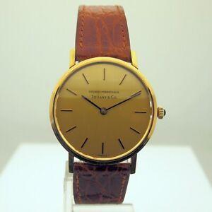 Girard-Perregaux-18k-Gold-Men-039-s-Manual-Wind-Watch-for-Tiffany-amp-Co