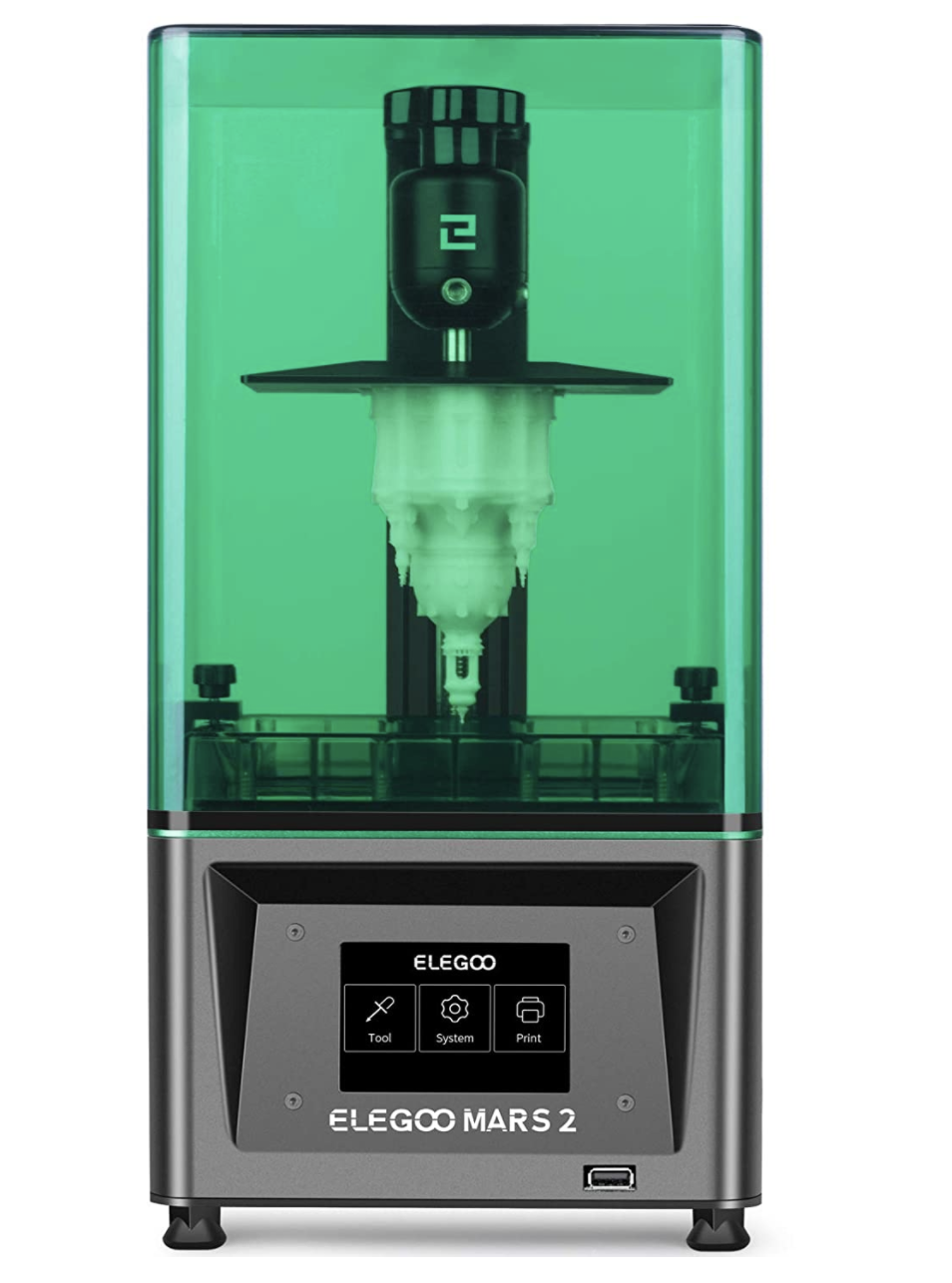 Elegoo Mars 2 MSLA Mono UV Photocuring 3D Printer with 6