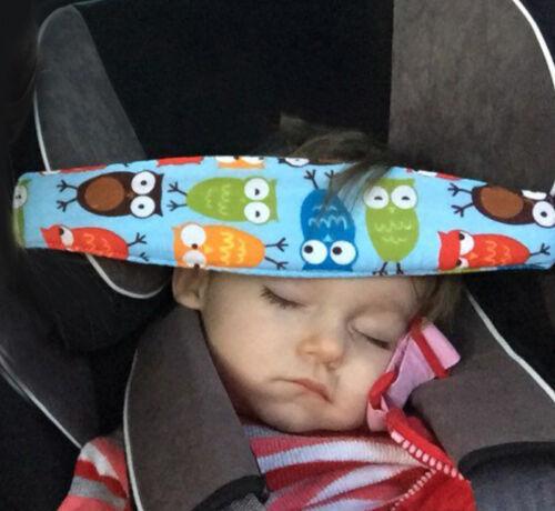 Baby Schlaf Hilfe Kindersitz Autositz Kopf Stütze Sicherheitsgurt Nackenkissen