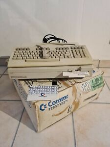 Commodore C128D mit Tastatur im original Karton Retrogamer  Blechversion