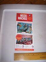 Vintage WEEKI WACHEE FLORIDA Travel Card / Brochure