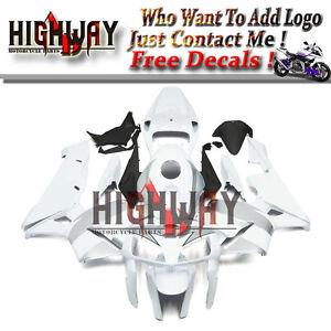 White-Silver-Injection-Fairings-For-Honda-CBR600RR-F5-05-06-Fairing-Kit-Bodywork