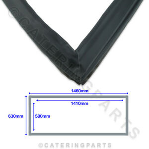 POLAR-AB814-UPRIGHT-FRIDGE-REFRIGERATION-DOOR-GASKET-G592-GN600TN-1460mm-x-630mm