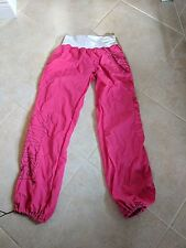 Zumba Fitness Women's Cargo Pants Sz L Pink & Black Active Gym Pants