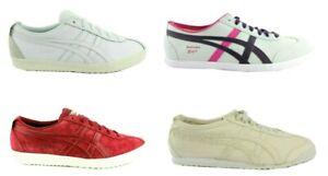 ASICS-Onitsuka-Tiger-Mexico-66-delegazione-Sneaker-Scarpe-Pelle-Camoscio