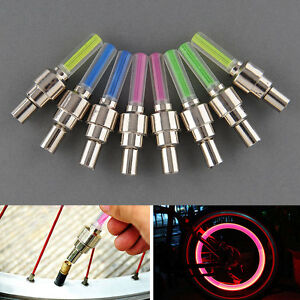 8Pcs-Colors-Bike-Bicycle-Wheel-Tyre-Valve-Cap-Spoke-Neon-LED-Light-Bulb