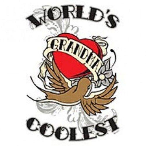 Worlds Coolest Grandma  Tshirt    Sizes/Colors