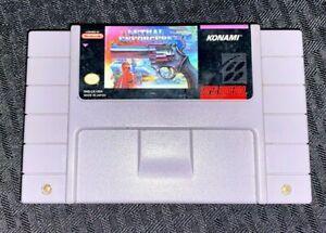 Super-Nintendo-SNES-Lethal-Enforcers-Game-Cartridge-Tested-and-Works