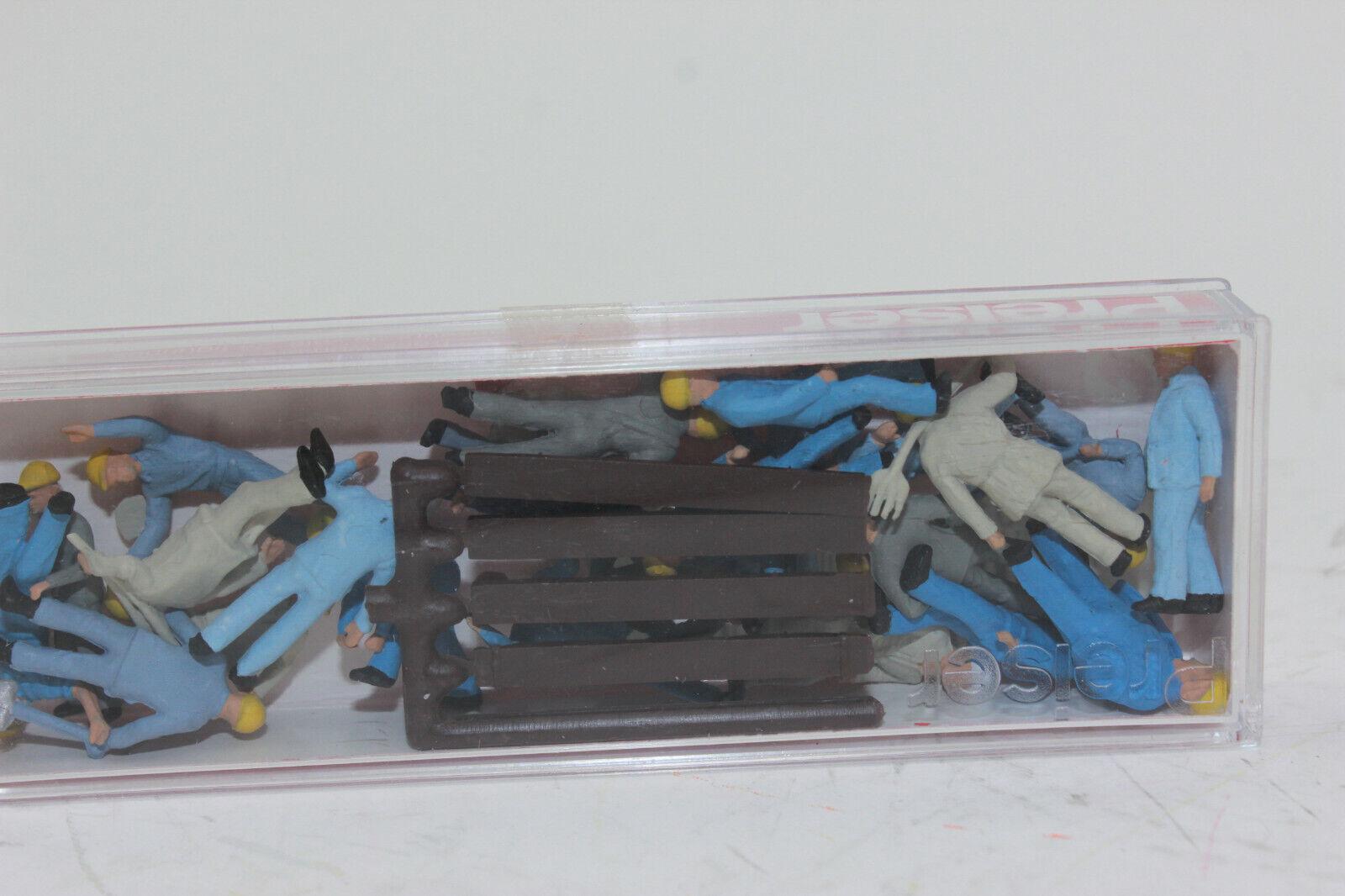 OVP H0 Preiser 14403 Gleisbauarbeiter Figuren