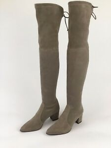 05ae553683b Stuart Weitzman Thighland Over The Knee Topo Suede Boots Thigh High ...