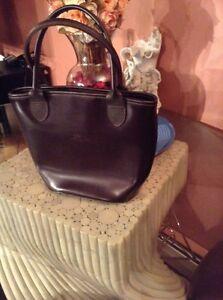 b5b05e6e1b42 Rare Vintage LONGCHAMP Paris Leather Tote Bag Handbag Authentic Made ...