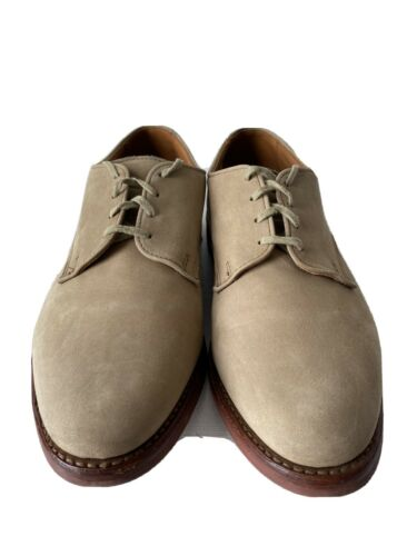 Allen Edmonds Nomad Oxford Size 9 Buck Suede Bone