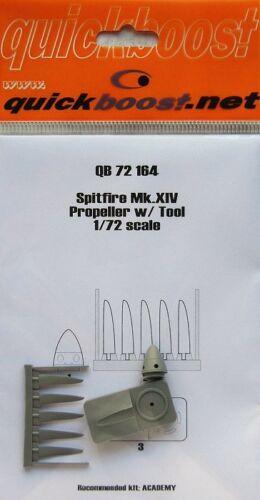 Quickboost 1//72 Spitfire Mk.xiv Propeller mit Werkzeug #72164