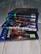 Playstation 4 PS4 Games FREE POSTAGE Sonic, Minecraft, PRO EVO 17, South Park