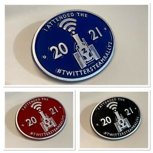 OFFICIAL 2021 TWITTER STEAM RALLY 2 PLAQUE