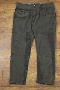 DESIGUAL-Ladies-KHAKI-Capri-Cargo-Pants-Trousers-Size-Waist-28-034