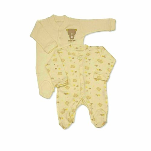 2 Pack by Nursery Time Boys /& Girls Baby Sleepsuit // Babygrow 0-18 Months