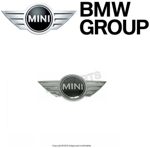 For MINI R53 R53C Cooper S Convertible OES Hood Emblem 51 14 0 660 106