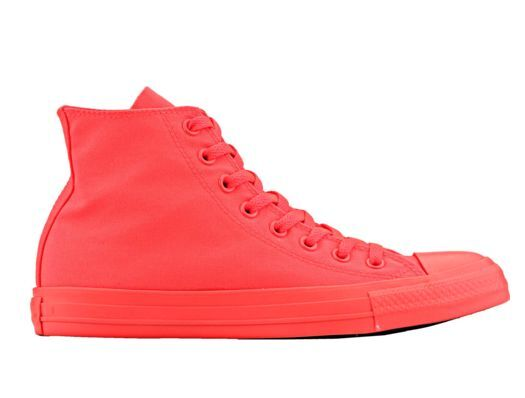 Converse Chuck Taylor All Canvas Star Hi Canvas All Neon Crimson Rosso Rosso Fluo 481966
