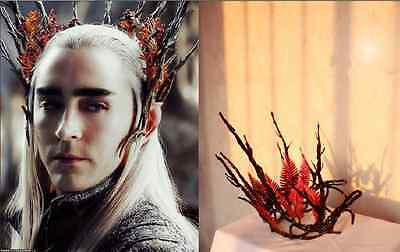The Hobbit  Battle of the Five Armies Elf King Thranduil Diadema Cosplay Crown